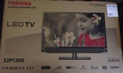 "Brand new Toshiba 32"" LED TV for sale , COD at pasir"