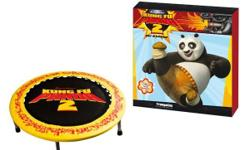 A brand new mini trampoline for sale. Kung fu panda