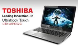 Brand New Ultrabook Toshiba u40t-a104 (Touchscreen)