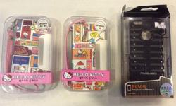 3 cases for SALE a. 1x iphone 5 case - Hello Kitty