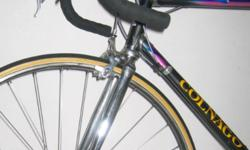 Colnago Technos lugged steel frame vintage bike Colnago
