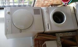 Bosch washer and dryer for sale. Self collection