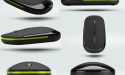 2.4GHZ branded wireless mouse Nano reciever, plug and