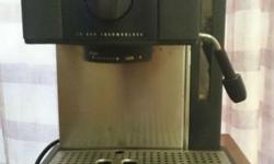 Used Breville Coffee Maker. If interested pls sms.
