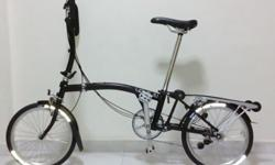Brompton * purchased May 2014 Singapore * Original with