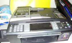 Brother printer and scanner for sale This is a used