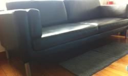 Leather sofa 250.00 All come from smoke free and pet