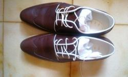 I have a pair of dark brown casual Pedro shoes to let