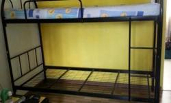 Budget Price : 2Tier Bunk Metal Bed + Free Delivery 01