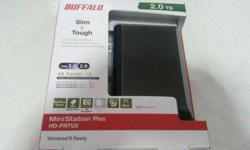 Buffalo 2.0TB MiniStation Plus External Hard Disk Shock