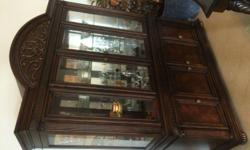 MOVING SALE: Traditional Style, Dark wood Buffet and