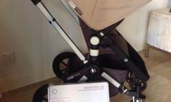 Sand coloured Bugaboo Cameleon includes: Bassinet, for