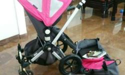 4 years old pram Suitable for newborn and up In very