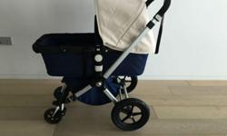 Barely used Bugaboo Cameleon stroller and bassinet.
