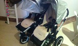 SELLING - Bugaboo Donkey Duo Black Stroller. 1 year old
