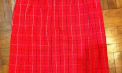 Burberrys of London nova check tartan skirts Size M or