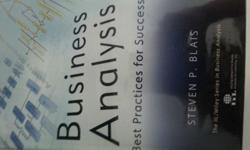 Selling Business Analysis book (by Steven Blais) for
