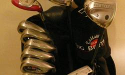 For Sale, 1 Set of Callaway Big Bertha Golf Clubs, with
