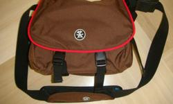 CRUMPLER Camera bag Brown colour. All new It can hold 1