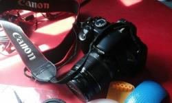 Selling used Canon 450D DSLR camera. Price: >$300
