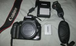 Canon 450d Body + accessories Canon 450d, Body only,