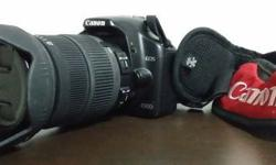 im selling my Canon SLR 450D with Sigma Lens 18-200mm.