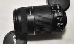Selling an excellent condition Canon 55-250mm F4.-4.5