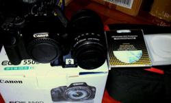 Hi I am selling my Canon 550D camera body with kit lens
