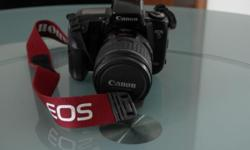A used Canon full frame camera going for sale together