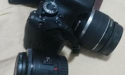 Selling a rarely used Cannon 600D comes together with 2