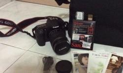 Canon 60D 1 yr old for sale Body+kit lense