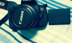 For Sale Canon 650D Slightly Used