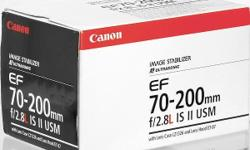 Canon 70-200 f2.8L IS MK2 New Model No Lens Code but