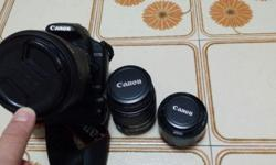 Canon EOS-500D ***FREE X 3LENS ***FREE X 2 BATTERIES