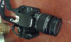 This is a highly regarded DSLR. I am selling as I