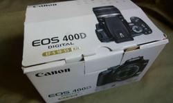 For sale: Canon EOS 400D with kit lens 18-55mm Price: