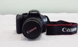 Comes with - Canon EOS 550D body with kit lens EFS