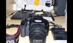 Canon EOS 550D Good Condition: no Scratches Comes