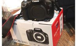 Canon EOS 550D body Selling price: $350, purchased