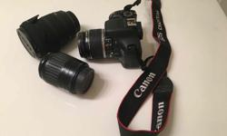 Canon 550D DSLR Set + Sigma DC 18-200mm Zoom Lens In