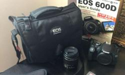 I am selling of my EOS600D as I'm planning to upgrade