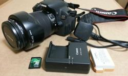 - Very good condition local set DSLR, in dry box most