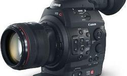 CANON EOS C300 (Cinema EOS Camera) Featuring a newly