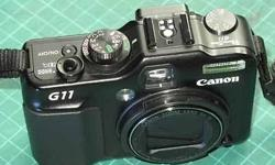 For sale: Canon G11 (Used) Under-utilised, very good