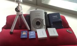 Used canon digital ixus 860is for sales Tripod 2sd