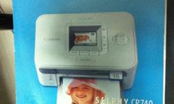Selling pre-owned Canon Photo Printer Selphy CP740. The