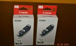 Selling Canon PIXMA Black Ink Cartridges (New and