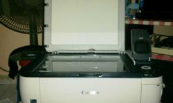 Canon Pixma Printer with built in Inject Photos, All in