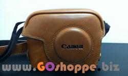Canon PowerShot G11/G12 Premium Leather Case (Light