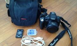 I am selling my Canon PowerShot SX1 IS, which is in